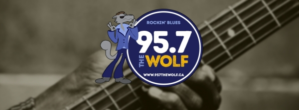 "Try our NEW streaming service ""Listen Live"" on 95.7 The Wolf, Rocking Blues Radio"